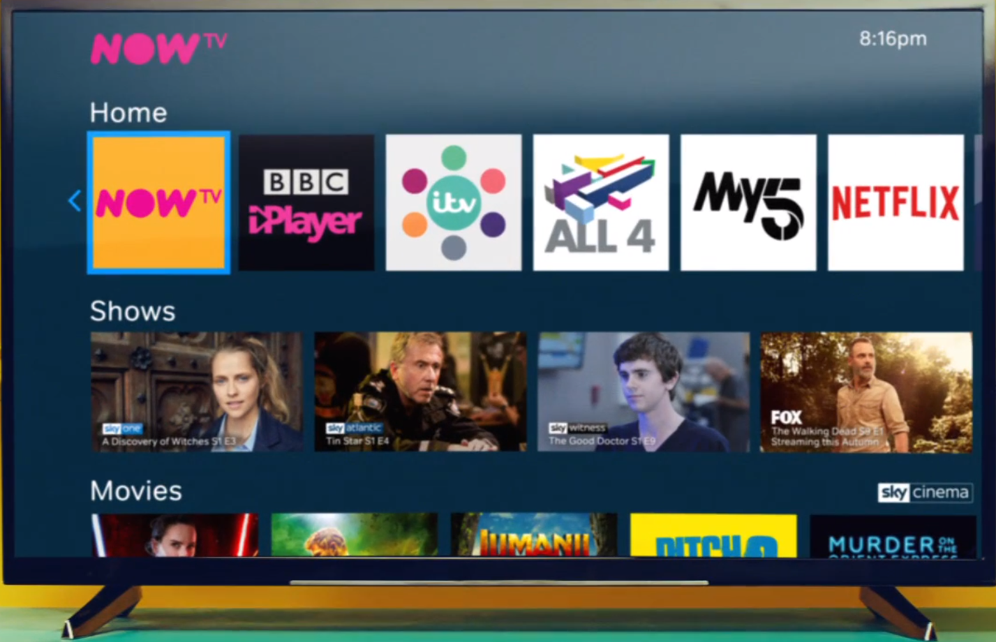 Updated home screen! - Page 3 - NOW TV Community