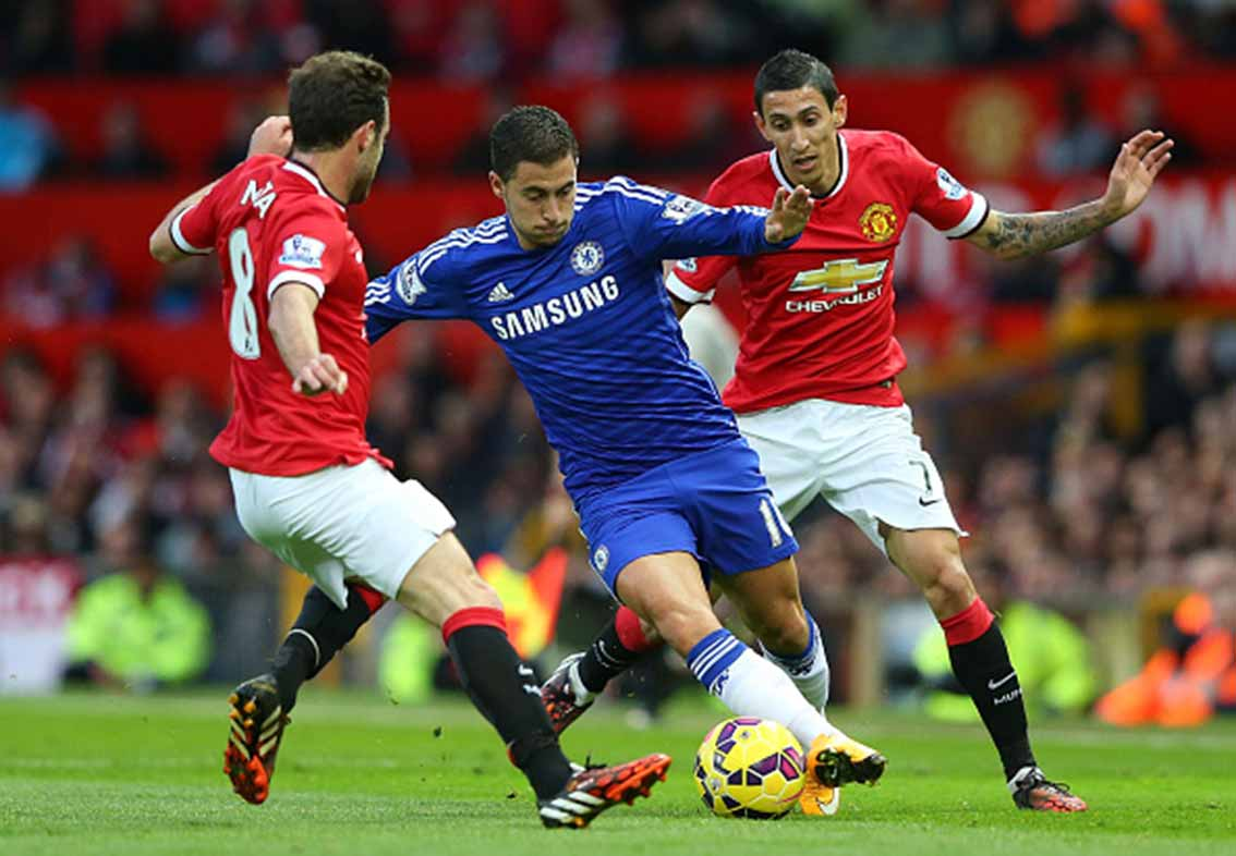 Chelsea meet Man Utd on Saturday.