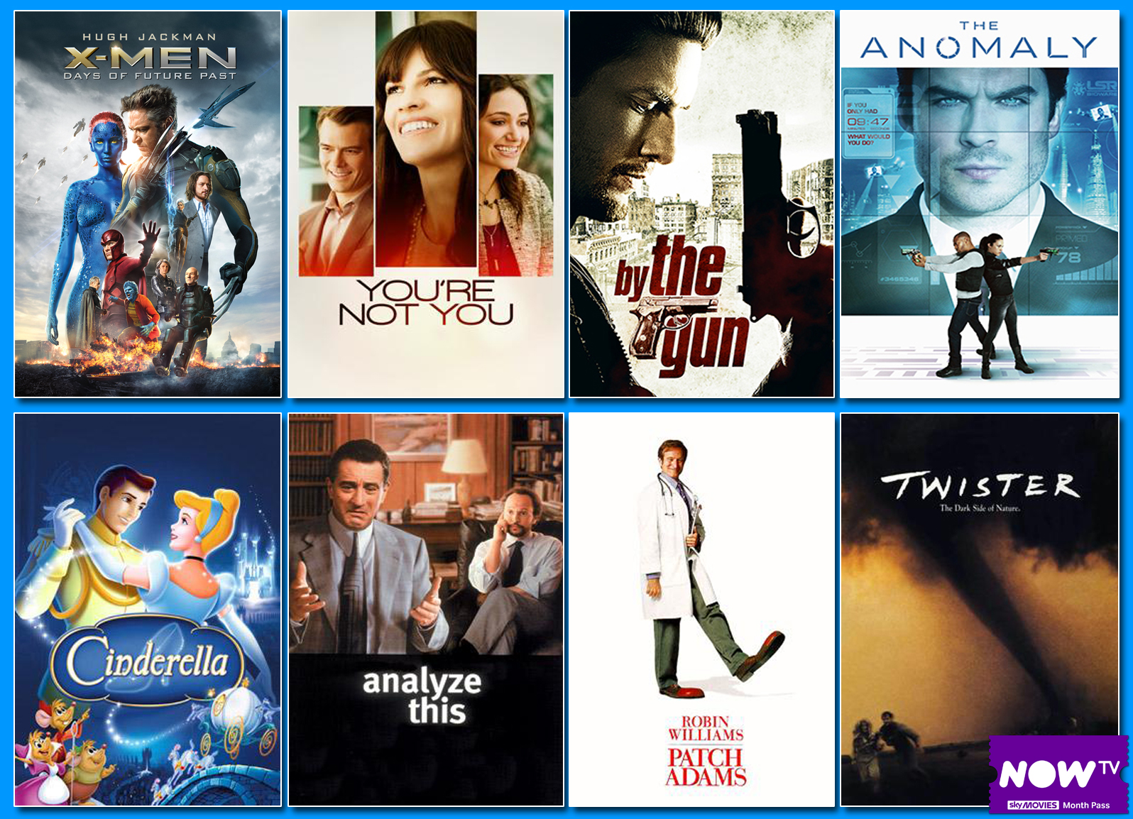 New Movies NOW TV 24 April 2015