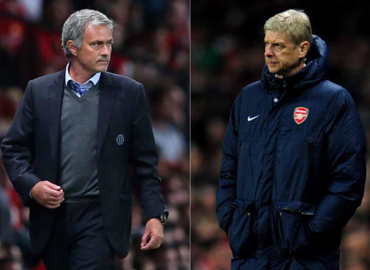 Can Wenger escaper Mourinho's pocket at last.